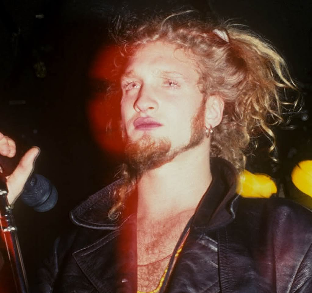 LAYNE STALEY OF ALICE IN CHAINS STOCK IMAGE 1992PICTURES GEORGE DE SOTA/LFI